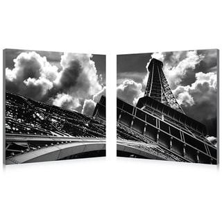 Baxton StudioTouch the Clouds Mounted Photography Print Diptych