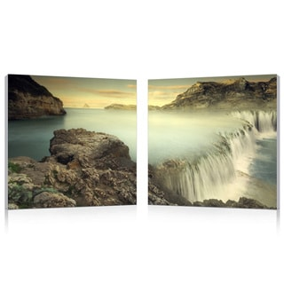 Baxton Studio Unbridled Power Mounted Photography Print Diptych