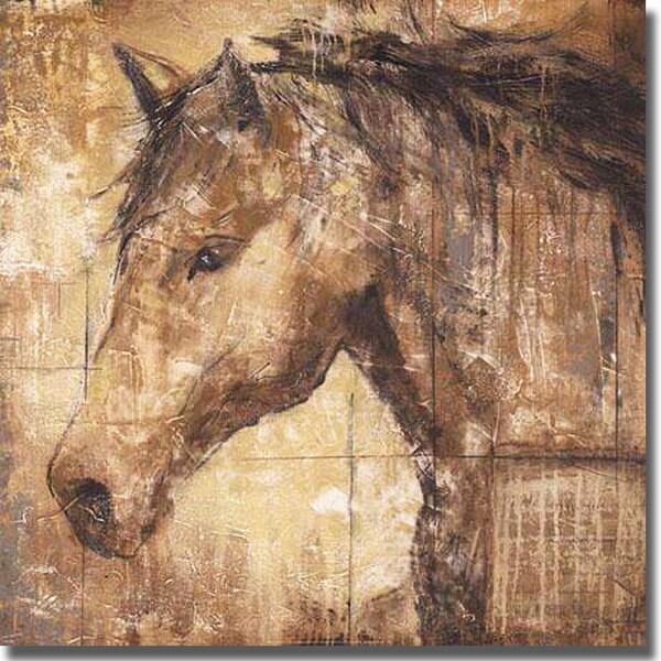 Liz Jardine 'Cavalier' Canvas Art