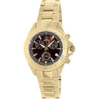 Swiss Precimax Women's Manhattan Elite Mother-of-Pearl Dial Chronograph Watch