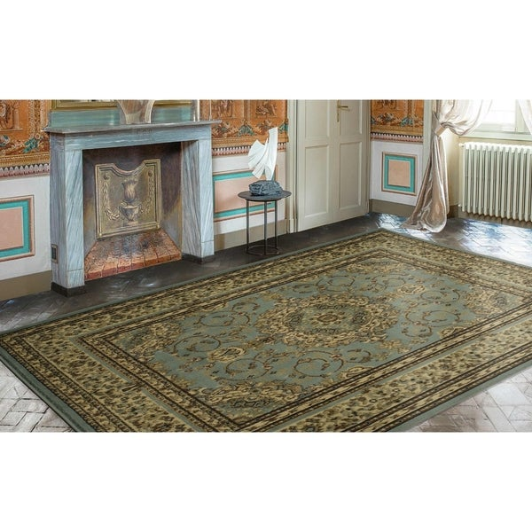 Ottomanson Royal Collection Oriental Persian Medallion Area Rug (7u0026#x27;10  ...