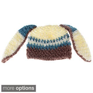 Baby Beanie Hand Crocheted Bunny Ears Hat https://ak1.ostkcdn.com/images/products/8537204/Baby-Beanie-Hand-Crocheted-Bunny-Ears-Hat-P15817748.jpg?impolicy=medium