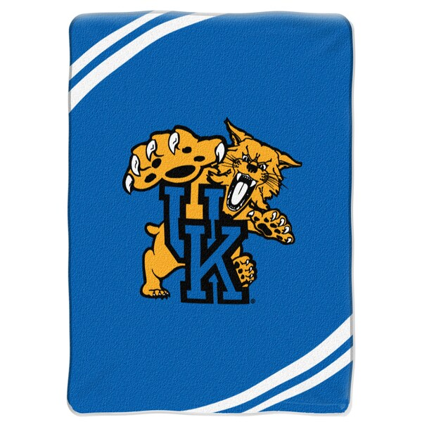 NCAA University of Kentucky Wildcats Raschel Force Throw