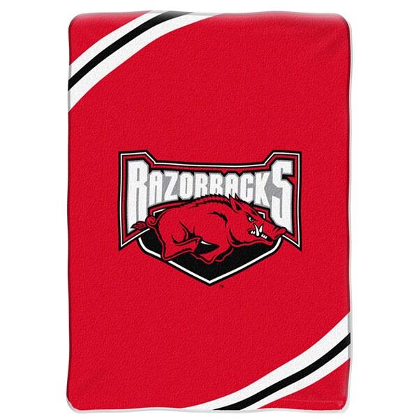 NCAA University of Arkansas Razorbacks Raschel Force Throw