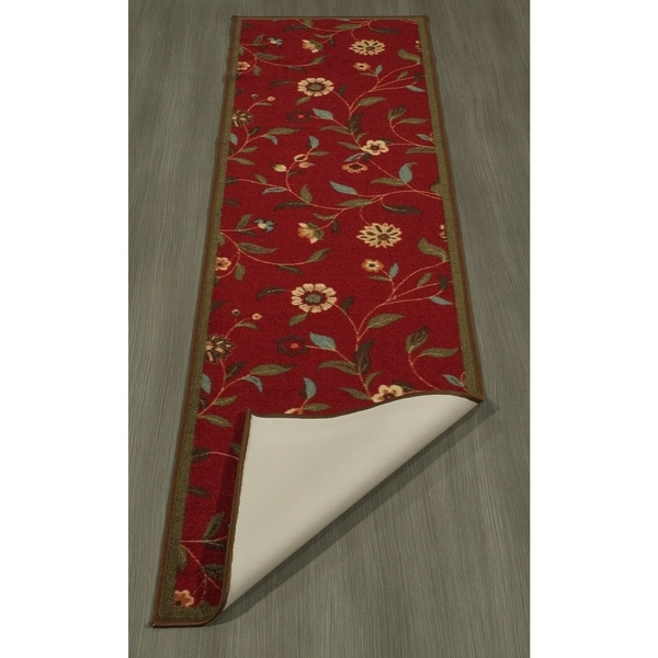 Ottomanson Ottohome Collection Floral Design Modern Area Rug. Opens flyout.