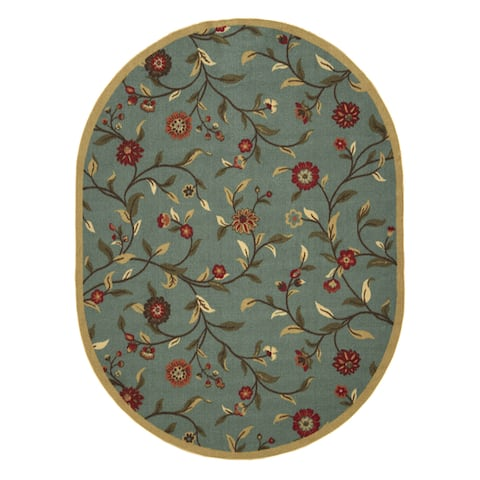 Ottomanson Ottohome Collection Floral Design Modern Area Rug