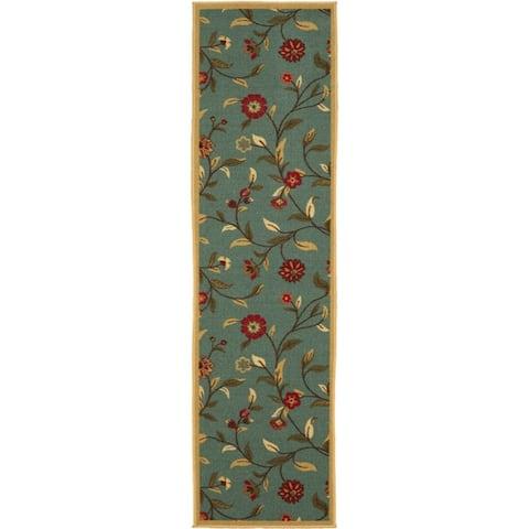Ottomanson Ottohome Collection Floral Design Modern Area Rug