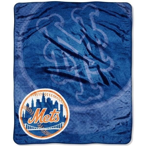 . MLB New York Mets Racshel Retro Throw