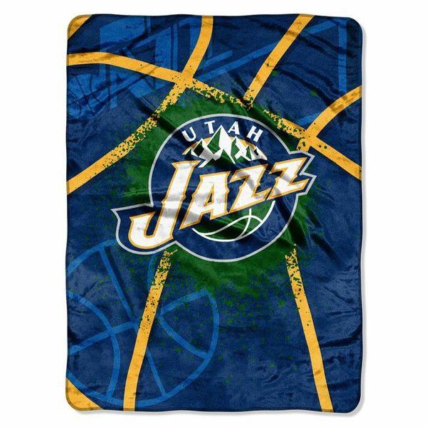 NBA Raschel 0803 Jazz Shadow Play Throw