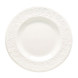 Lenox Opal Innocence Carved Accent Plate