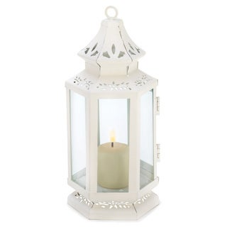 Zingz & Thingz White Small Victorian Lantern