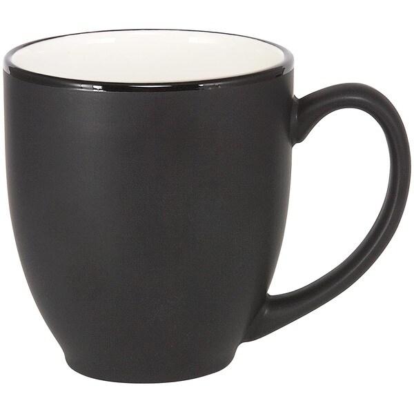 Bistro White Ceramic Mugs (Pack of 4)