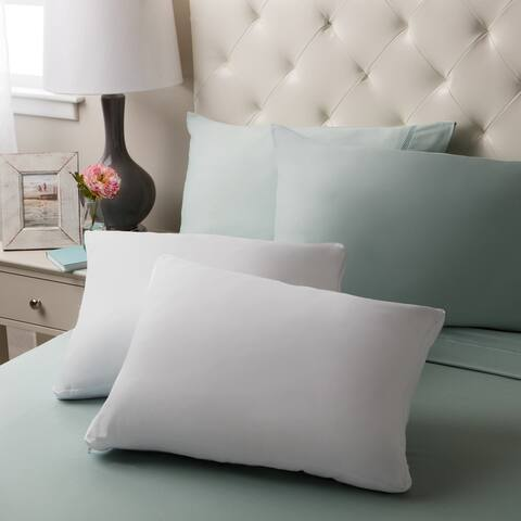 Touch of Comfort Gel Memory Foam Micro-cushion Pillow (Set of 2)