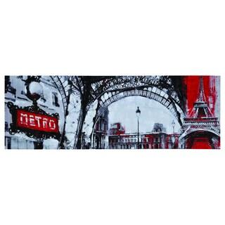 Ren Wil Giovanni Russo 'Urban Paris' Canvas Art