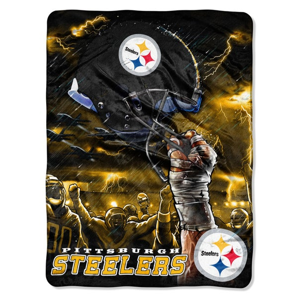 NFL Pittsburgh Steelers Rachel Sky Helmet Throw