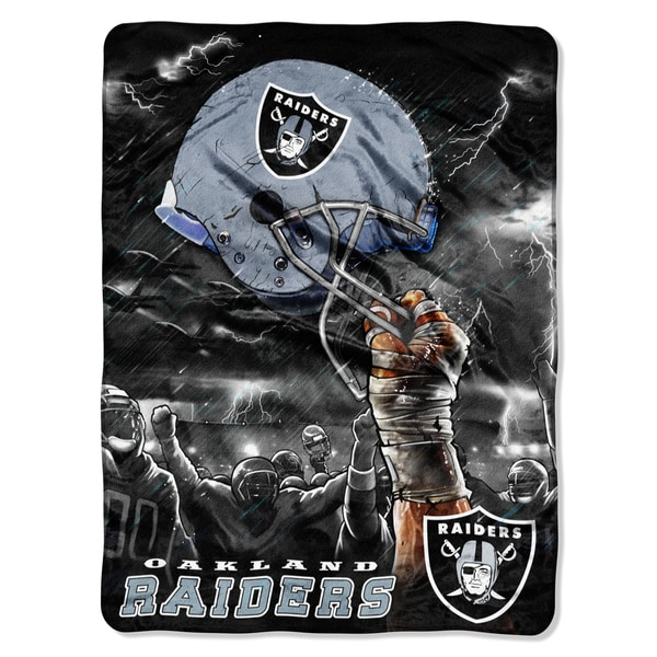 NFL Oakland Raiders Rachel Sky Helmet Throw