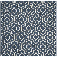 Shop Safavieh Handmade Moroccan Cambridge Navy Wool Rug