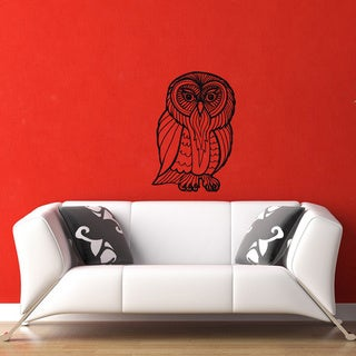 Owl Vinyl Wall Decal