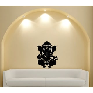Ganesha Elephant Lord of Success Hindu Vinyl Wall Decal