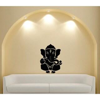 Ganesha Elephant Lord of Success Hindu Vinyl Wall Decal