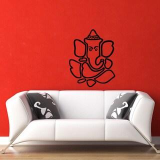 Ganesha Hindu Vinyl Wall Decal