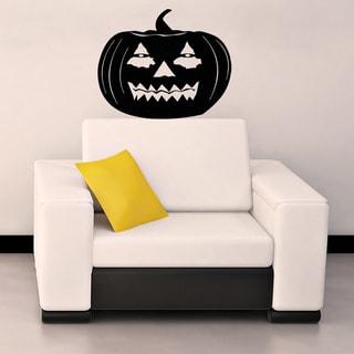 Halloween Pumpkin Vinyl Wall Decal
