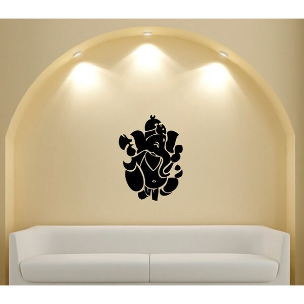 shop ganesh ganesha hindu god of success vinyl sticker wall decal
