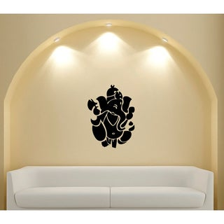 Ganesh Ganesha Hindu God of Success Vinyl Sticker Wall Decal