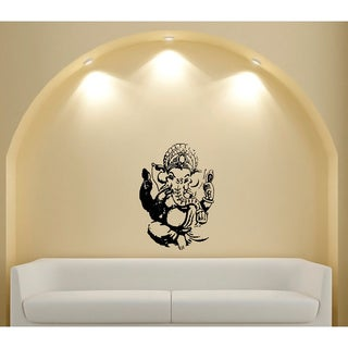 Ganesh Elephant Lord of Success Vinyl Wall Decal