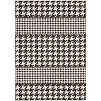 Joseph Abboud Griffith Domino Area Rug by Nourison - 3'6 x 5'6