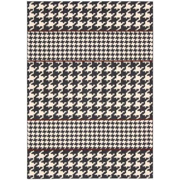 Joseph Abboud Griffith Domino Area Rug by Nourison - 9'6 x 13'