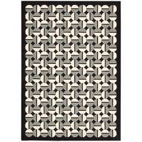Joseph Abboud Griffith Onyx Area Rug by Nourison - 7'9 x 10'10