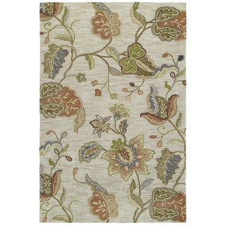 Copia Multi Floral 8x10 Polyester Rug