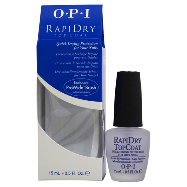 Shop OPI RapiDry Top Coat Nail Lacquer - Free Shipping On Orders ...