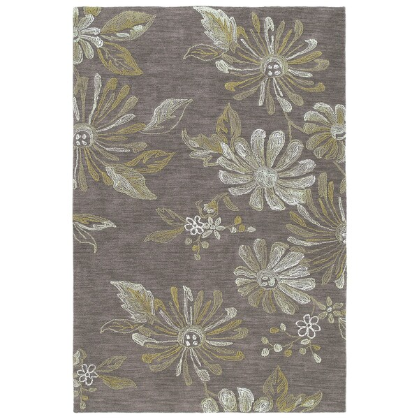 Copia Light Brown Polyester Rug