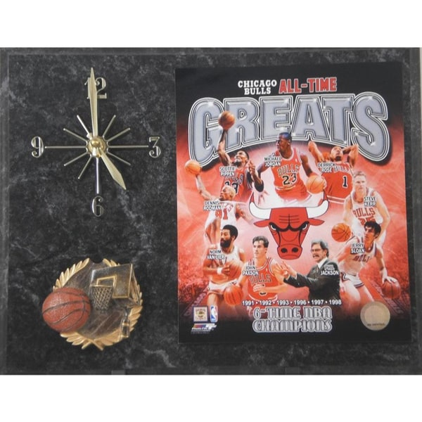 Chicago Bulls 'All Time Greats' Clock