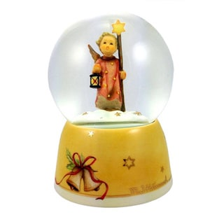 Christmas Song Angel Snow Globe