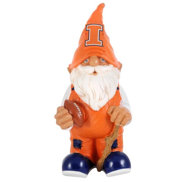 Forever Collectibles NCAA Illinois Fighting Illini 11-inch Garden Gnome