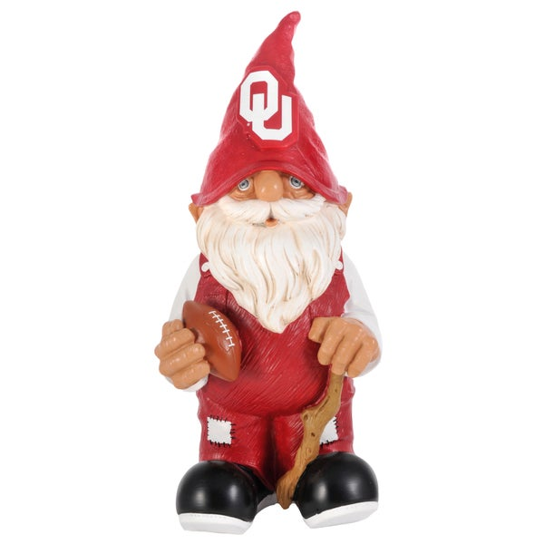 NCAA Oklahoma Sooners 11-inch Garden Gnome