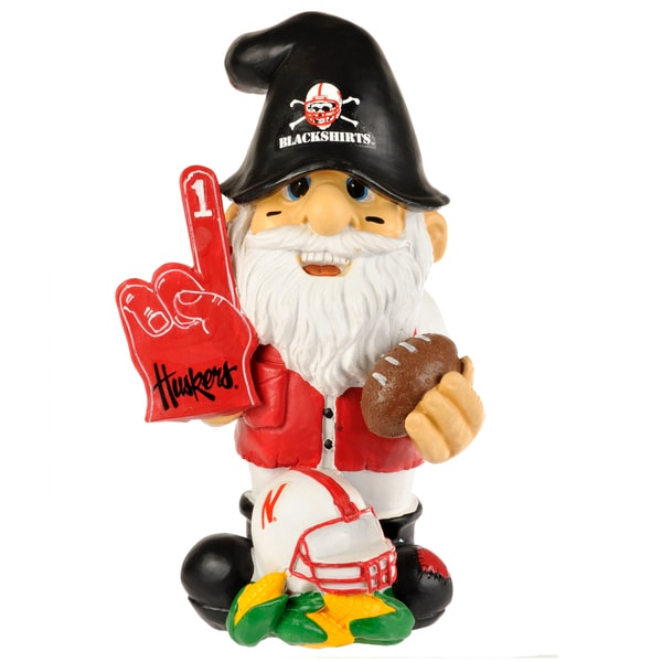 Forever Collectibles NCAA Nebraska Cornhuskers 11-inch Garden Gnome