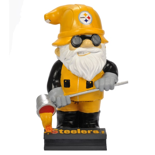 Forever Collectibles NFL Pittsburgh Steelers 11-inch Thematic Garden Gnome