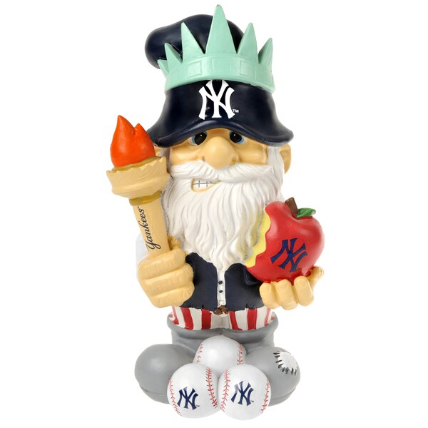 Forever Collectibles MLB New York Yankees 11-inch Thematic Garden Gnome