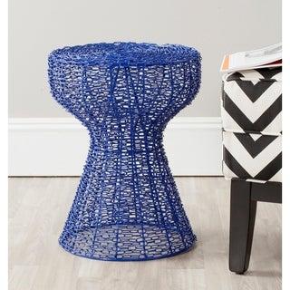 Safavieh Tabitha Dark Blue Iron Chain Stool