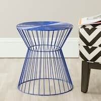Safavieh Adele Dark Blue Iron Wire Stool