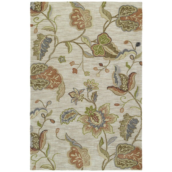 Shop Copia Multi Floral 9x12 Polyester Rug Free Shipping
