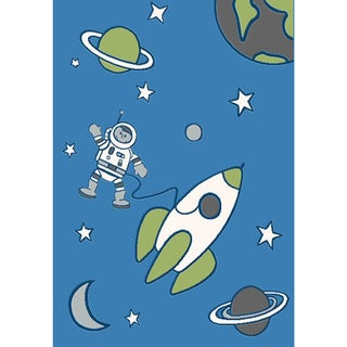 Magic Out in Space Rug (3'11 x 5'8)