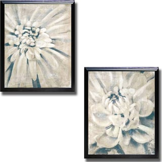 Stacey D'Aguiar 'Glam I and II' 2-piece Framed Canvas Art Set