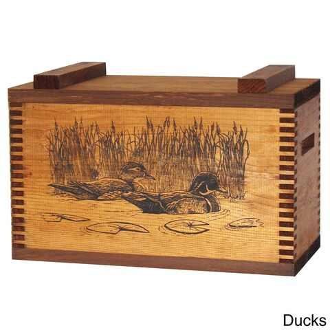 Standard Ammo/Accessory Case with Ducks Print