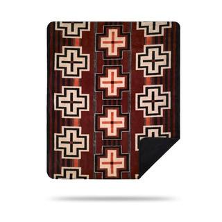 Denali Pink and Black Ribbons Throw Blanket