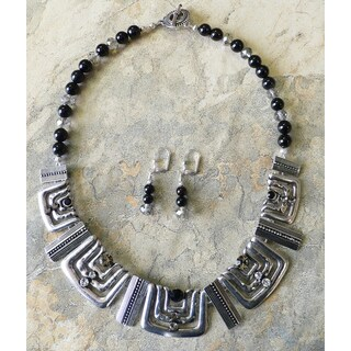 'Masai' Necklace and Earring Set